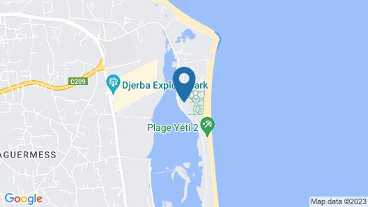 Vincci Helios Beach Map