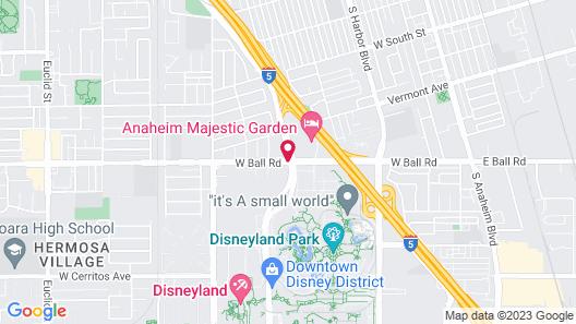 Days Inn by Wyndham Anaheim West Map