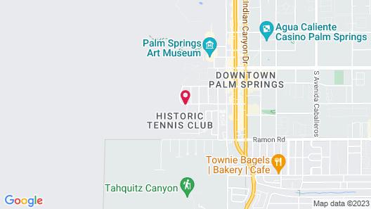 Palm Springs Tennis Club, a VRI resort Map