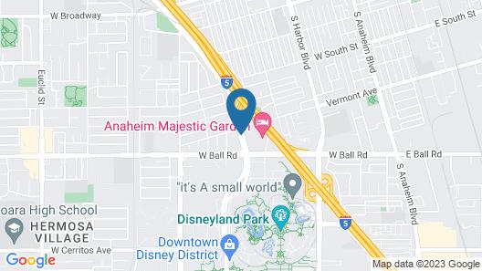 Super 8 by Wyndham Anaheim/Disneyland Drive Map