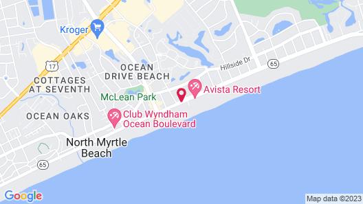 Tilghman Beach and Racquet Club by Elliott Beach Rentals Map