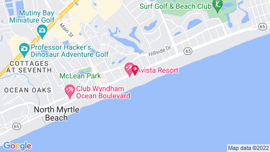 Maritime Beach Club by Capital Vacations Map