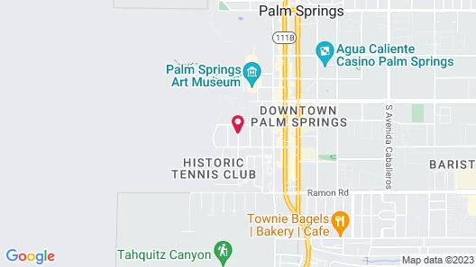 Coyote Inn Map
