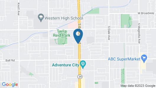 Holiday Inn Express Anaheim West, an IHG Hotel Map