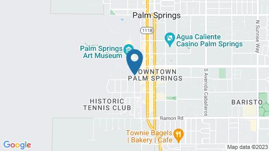 Casa Cody Map