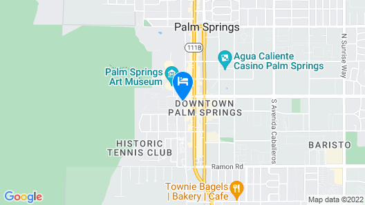 Palm Mountain Resort and Spa Map