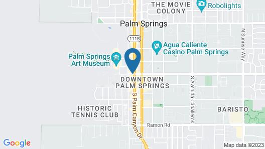 Kimpton Rowan Palm Springs Hotel, an IHG Hotel Map