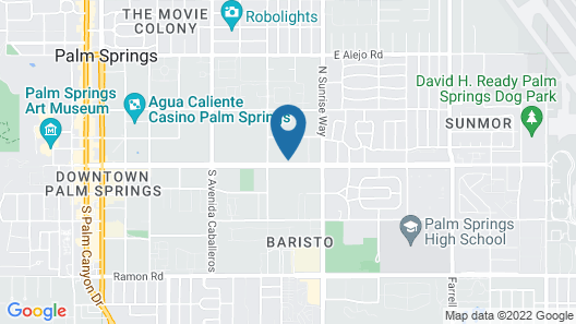 Extended Stay America Suites Palm Springs Airport Map