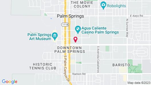 SPA Resort Casino Map