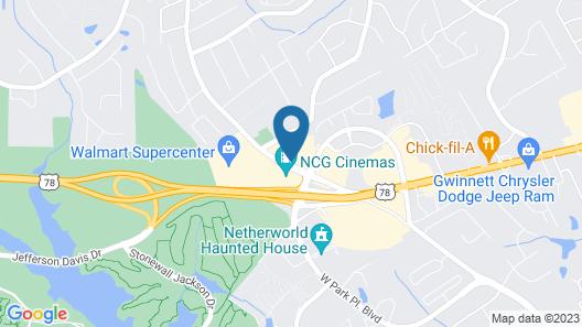 Country Inn & Suites by Radisson, Stone Mountain, GA Map