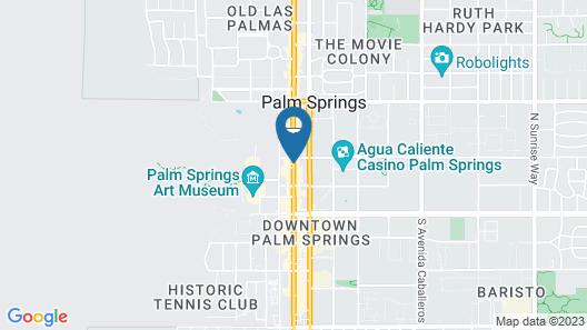Hyatt Palm Springs Map