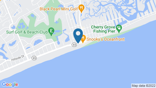 Club Wyndham Towers on the Grove Map