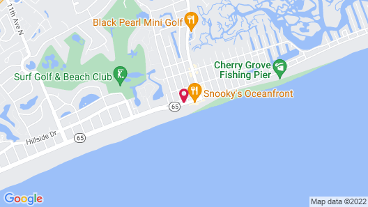 Towers at North Myrtle Beach Map