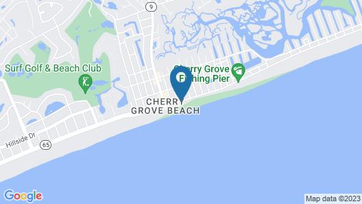 Oceans by Elliott Beach Rentals Map