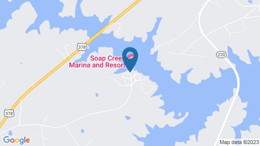 Soap Creek Marina Map