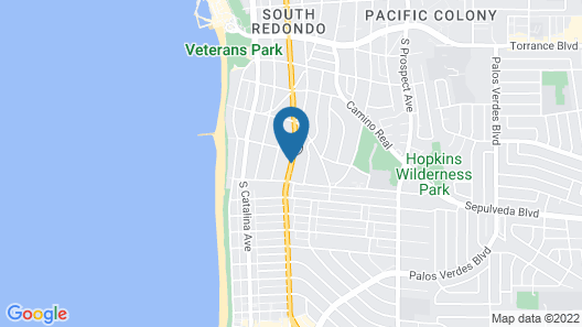 Redondo Inn and Suites Map