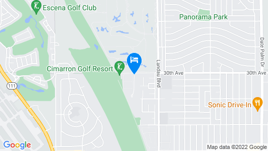 Staybridge Suites Cathedral City – Palm Springs, an IHG Hotel Map