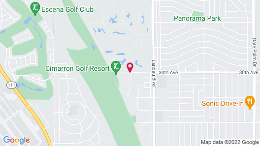 Staybridge Suites Cathedral City – Palm Springs Map