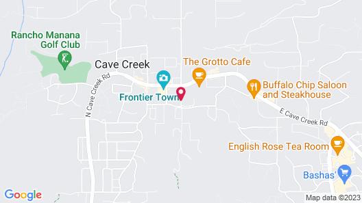 Villas of Cave Creek Map