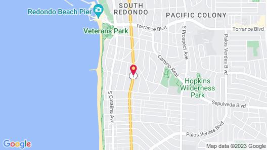 Moonlite Inn Redondo Beach Map