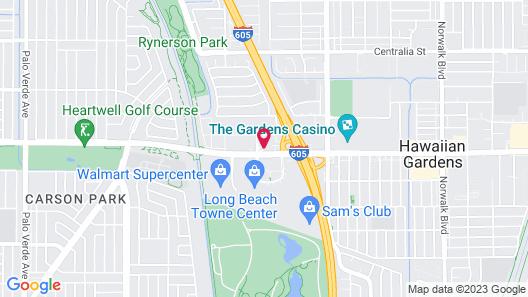 Exclusivo Inn & Suites Map