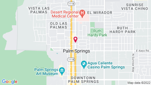 Triada Palm Springs, Autograph Collection by Marriott Map