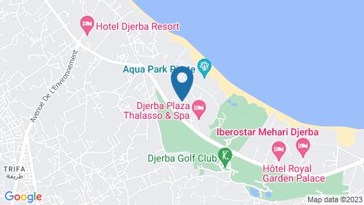 Djerba Aqua Resort Map