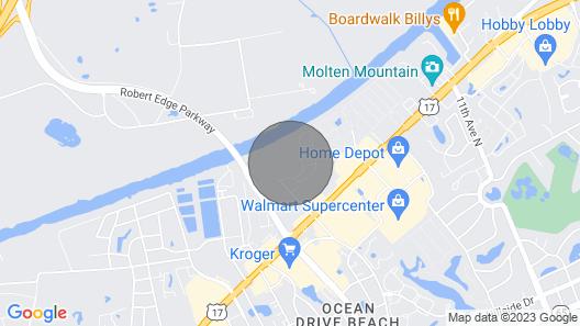 Waterway Landing by Seaside Vacations Map