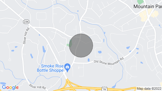 Minutes from Stone Mountain Park, CDC, Emory& ATL Map