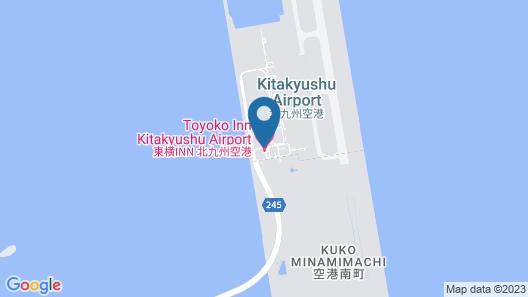 Toyoko Inn Kitakyushu Kuko Map
