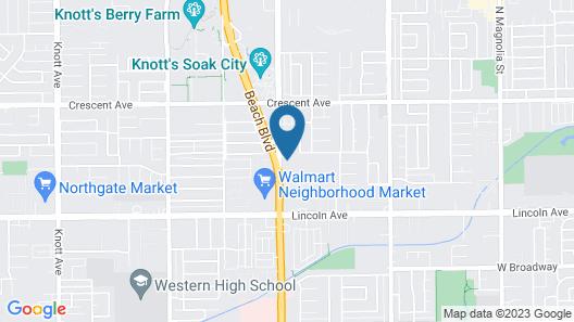 Buena Vista Inn Map