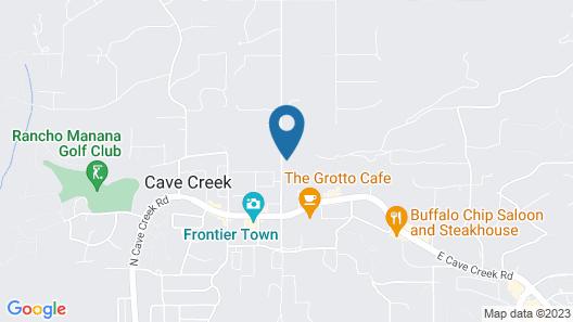 Spur Cross Inn Map