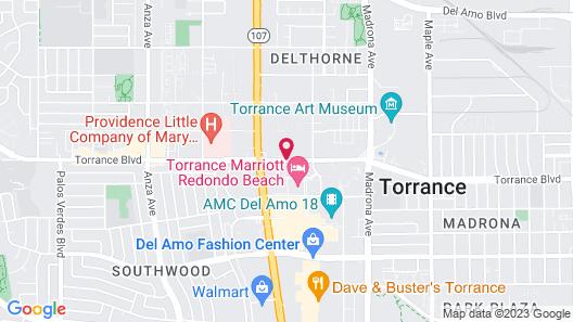 Howard Johnson by Wyndham Torrance Map