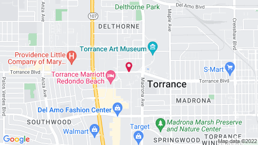 Extended Stay America Los Angeles -Torrance Map