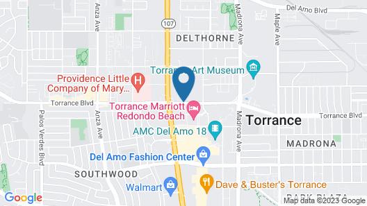 Residence Inn By Marriott Torrance Redondo Beach Map