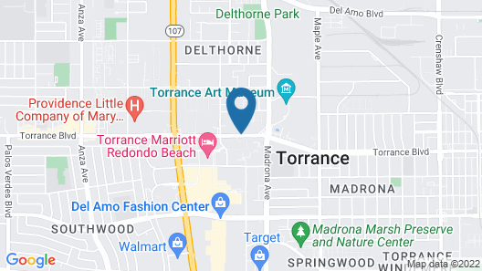Extended Stay America Suites Los Angeles Torrance Blvd Map