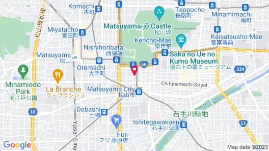 Comfort Hotel Matsuyama Map