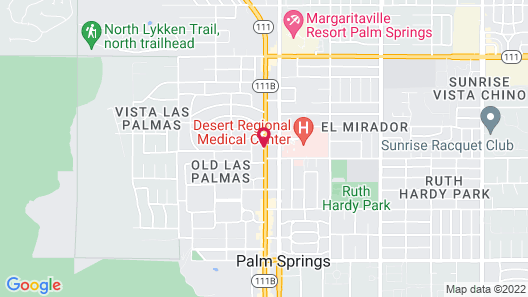 WorldMark Palm Springs Map
