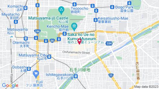 Checkin Matsuyama Map