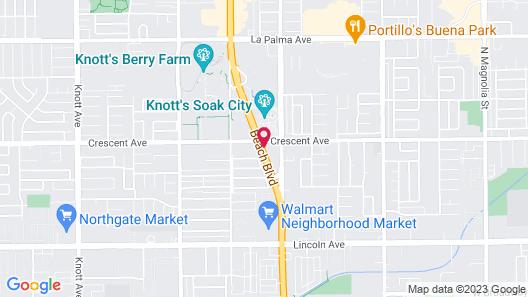Best Host Inn Map