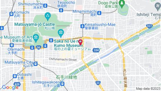Nest Hotel Matsuyama Map