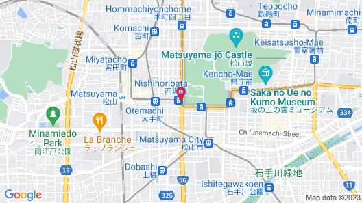Hotel MyStays Matsuyama Map