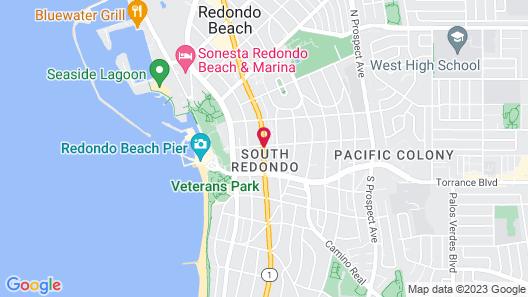 Redondo Pier Inn Map