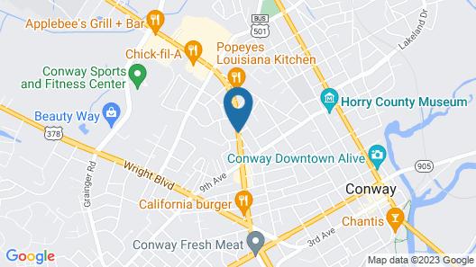 Econo Lodge Conway Map