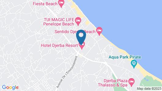 Djerba Resort Map