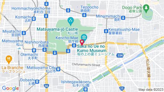ANA Crowne Plaza Matsuyama, an IHG Hotel Map