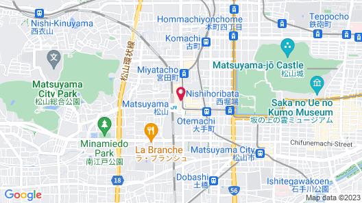 Terminal Hotel Matsuyama Map