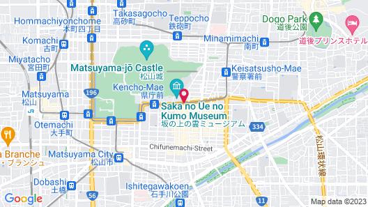 Matsuyama Tokyu REI Hotel Map