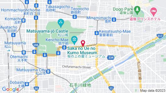 Daiwa Roynet Hotel Matsuyama Map