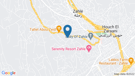 Beit El Kroum Boutique Hotel Map